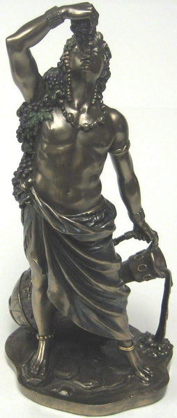 Dionysus Bucchus Greek Roman God of Wine Statue