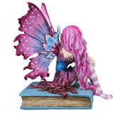 2018 Amy Brown Fairies Dragon Collectible Figurine (Book Fairy)