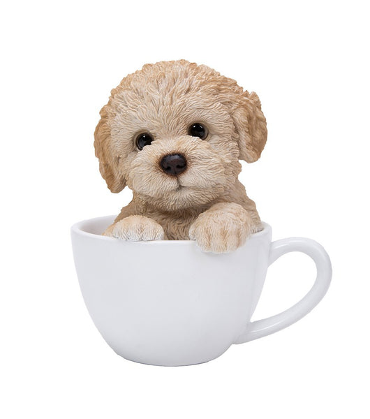 Adorable Poodle Teacup Pet Pals Puppy Collectible Figurine 5.75 Inches