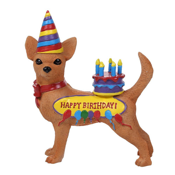 Adorable Birthday Chihuahua Collection Cute Chihuahua In Costume Dog Collectible