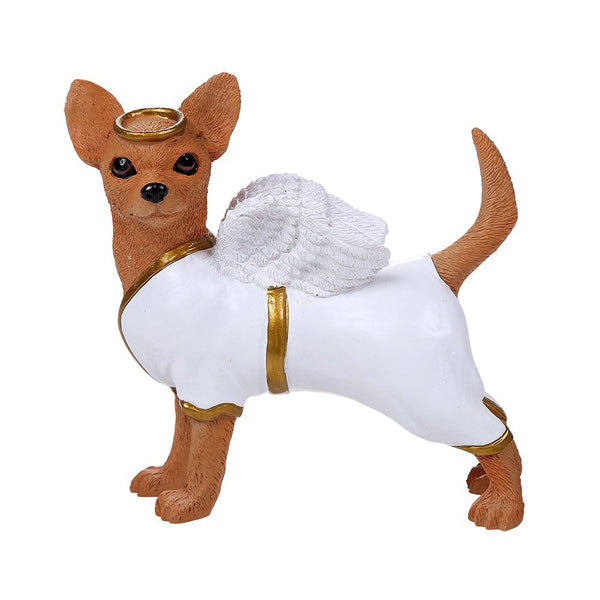 Adorable Guardian Angel Chihuahua Collection Cute Chihuahua In Costume Dog Collectible