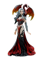 Severeielle Dragon Witch Warrior Princess Collectible Figurine 12 inch Tall Official Nene Thomas Collection Fantasy Collectible Figurine