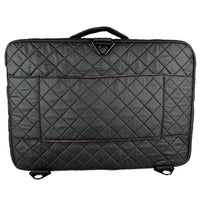 Kiota Makeup Bag 3 Layers Portable Cosmetic Travel Case With Brush Holder And Adjustable Dividers