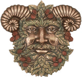 Greenman Summer Plaque Fantasy Designer Decoration Collectible