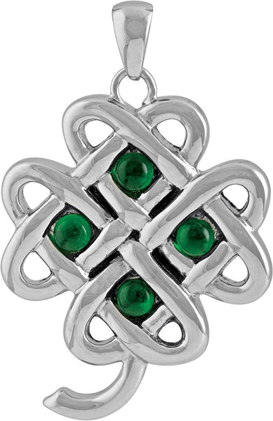 YTC Summit Celtic Clover Pendant Collectible Necklace Accessory Medallion Jewelry