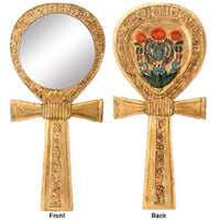 Ankh Egyptian Mirror Collectible Egypt God Religious Symbol Figure