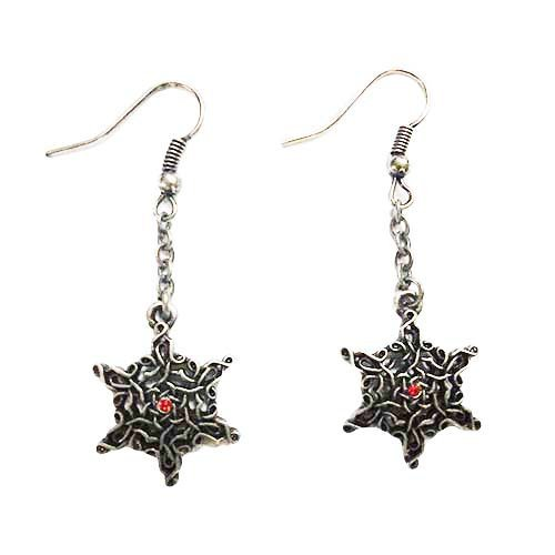 Celtic Star Lead Free Alloy Pewter Earrings