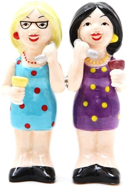Phoney Friends Salt and Pepper Shaker Set