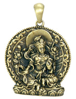 YTC Green Tara Pendant Necklace