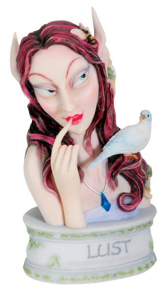 SUMMIT BY WHITE MOUNTAIN Lust - Collectible Seven Sins Fairy Figurine Sculpture Pixie Statue