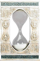 Leone Sand Timer Hourglass Lion Design Home Decoration Décor Keep Time New