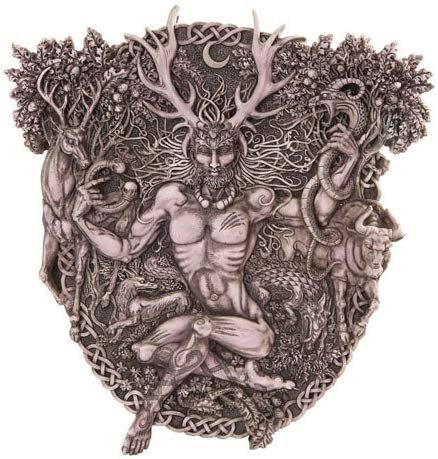 Celtic Cernunnos Wall Plaque