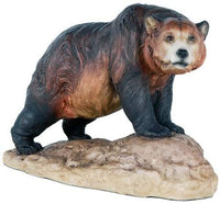 Grizzly Bear North American Bear Country Wildlife Collection Figurine Decor Gift 8 Inch