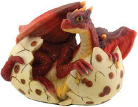 YTC Red Dragon Hatching - Collectible Figurine Statue Sculpture Figure