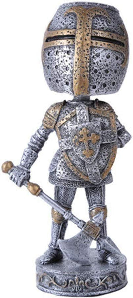 Medieval Knight Cool Bobblehead Collectible Figurine