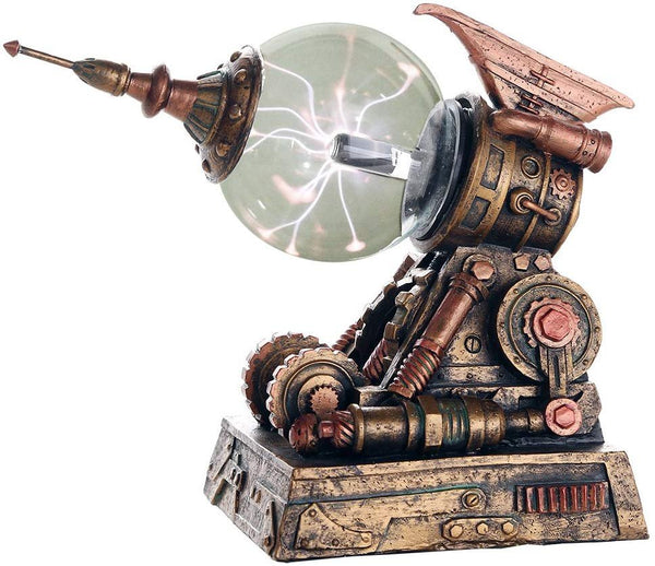Pacific Giftware Steampunk Plasma Wave Disrupter Blaster Gun Sculptural Decorative Steampunk Collectible Battery Operated