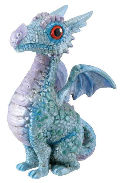 SUMMIT BY WHITE MOUNTAIN Blue Baby Dragon Figurine