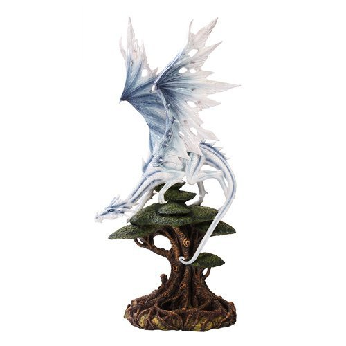White Winged Dragon Stand on Tree