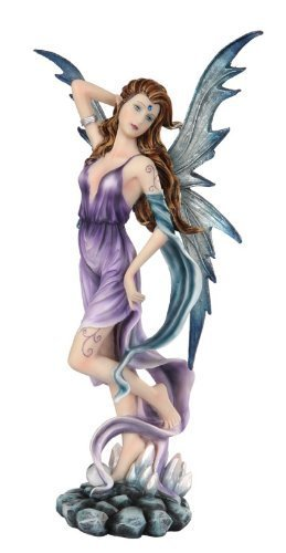 Pacific Giftware Fairyland Collection Fantasy Elemental Fairy -Wind, 12 Inches