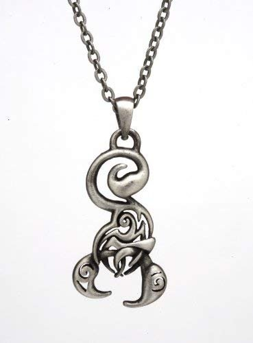 Lead-free pewter Necklace - Scorpion