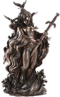 Pacific Giftware Lady of the Lake Arthurian Legend with Excalibur Sword Collectible 9.5 Inch