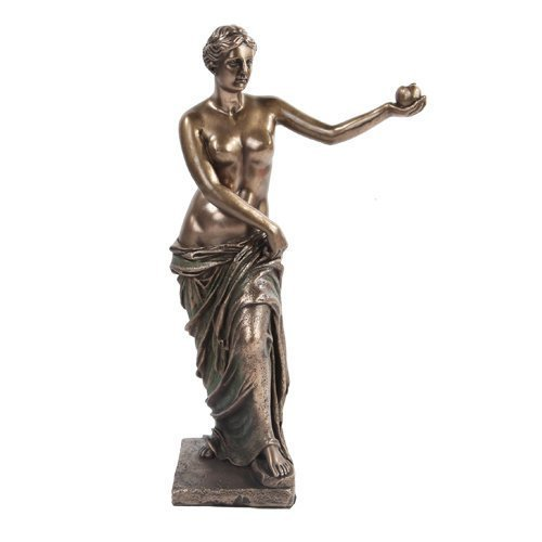 10.75 Inch Bronze Colored Venus De Milo Reconstructed Figurine