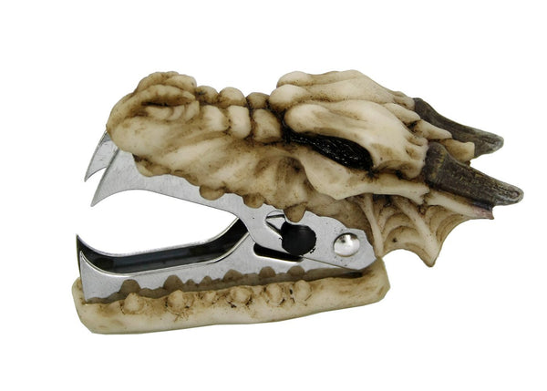 Novelty Archaic Bone Dragon Staple Remover Office Desktop Stationery 3.25 Inch L