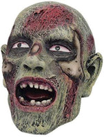 "PTC Pacific Giftware Small Halloween Open Mouth Zombie Skull Resin Statue Figurine, 4"" L"