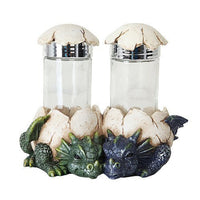 DRAGON HATCHLINGS SALT PEPPER SHAKER HOLDER SET