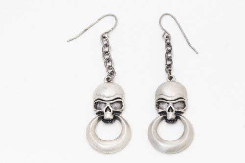 Mystica Collection Jewelry Earrings - Skull