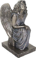 YTC Summit International Christchurch Cathedral New Zealand Replica Waiting Angel Statue Figurine New