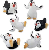 Penguins Collectible Figurine, Set of 6