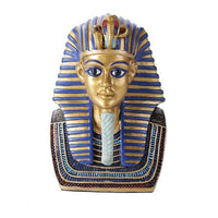 Pacific Giftware 5 Inches Ancient Egyptian Pharaoh King TUT Tutankhamun Golden Bust Statue