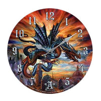 The Highgate Horror Wall Clock Round PLate Diameter 13.5""