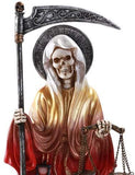 Pacific Giftware Santa Muerte Saint of Holy Death Standing Religious Statue...