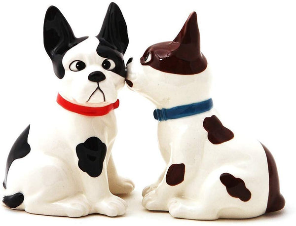Funny Mutts Attractives Salt Pepper Shaker Made of Ceramic