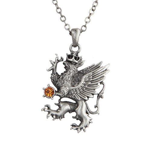 Heraldic Griffin Necklace Fantasy Jewelry