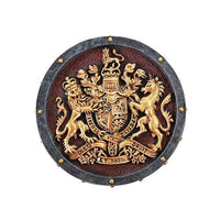 Pacific Giftware Medieval Times Heraldry Royal Coat of Arms Gold Accent Trinket Box Collectible