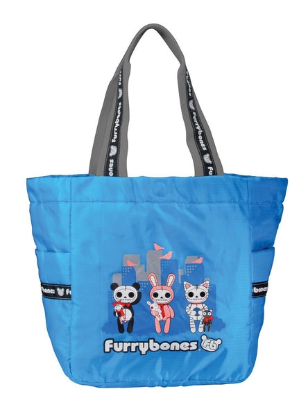 Furrybones City Buddies Blue Carrying Tote Bag