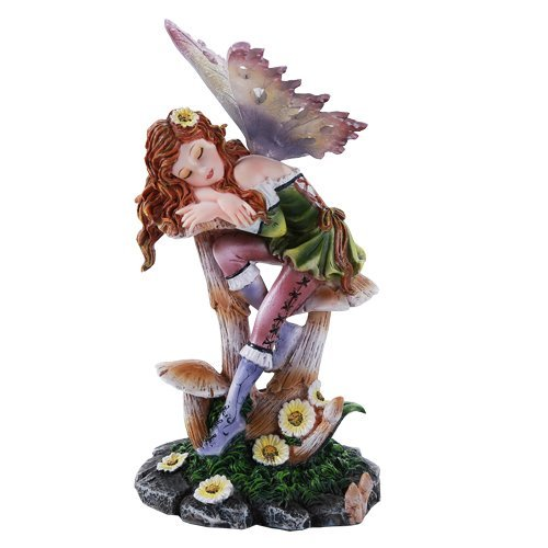 Pacific Giftware Fairy Garden Toadstool Mushroom Fairy Decorative Mini Garden Figurine