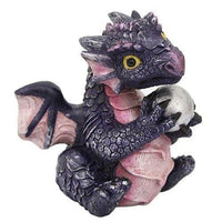 Cute Small Dragon Prehistoric Collectible Made of Polyresin