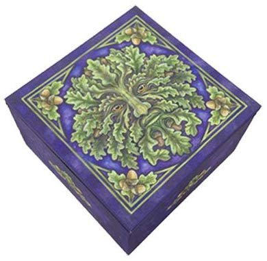 Pacific Trading Small Greenman Mirror Box