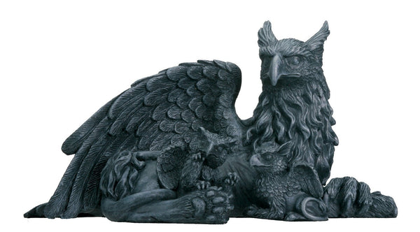 Griffin With Babies - Collectible Figurine Statue Sculpture Figure