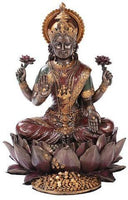 Lakshmi on Lotus Hinduism Display Statue