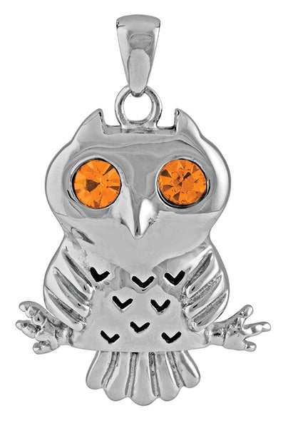 YTC Summit Eule Owl Pendant Nocturnal Bird Collectible Necklace Accessory Jewelry