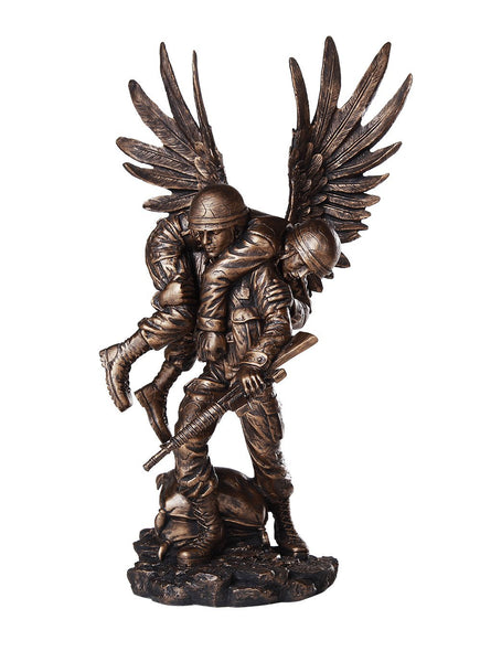 Pacific Giftware Guardian Angel in The Battlefield for America's Finest Soldier Military Heroes Collectible Figurine