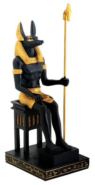 YTC Sitting Anubis Statue - Collectible Figurine Statue Sculpture Figure