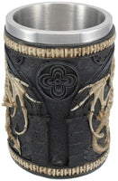 Dragon Skeleton Tankard 16 oz. Mug