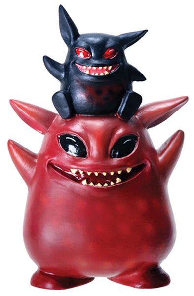 4 Inch Underbedz Umbie and Fitz Cartoon Monster Statue Figurine