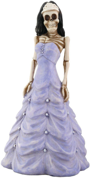 YTC Skeleton Quinceañera in Purple Figurine